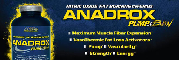 ANADROX PUMP BURN MHP
