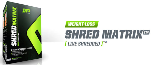 Shred Matrix MusclePharm