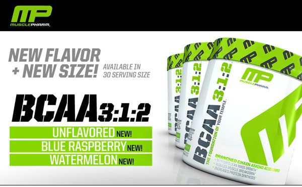 BCAA 3:1:2 Powder MusclePharm