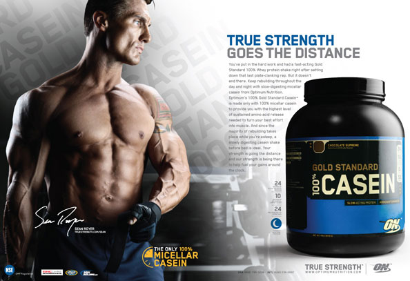 100% Casein Gold Standard Optimum Nutrition (Киев, Украина)