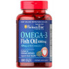 Puritan`s Pride Omega 3 Fish Oil (100 капс.) - atletmarket.com.ua