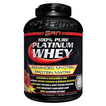 100% Pure platinum whey SAN (2240 гр.) - atletmarket.com.ua