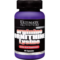 Arginine Ornithine Lysine Ultimate Nutrition (100 капс.) - atletmarket.com.ua