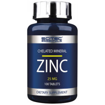 ZINC (цинк) Scitec Essentials (100 таб.) - atletmarket.com.ua