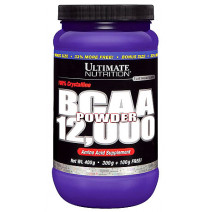 BCAA 12000 Powder Ultimate nutrition (457 гр.) - atletmarket.com.ua