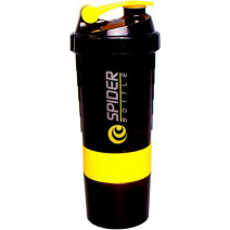 Шейкер SpiderBottle Mini2Go NEON Yellow (500 мл + 2 контейнера) - atletmarket.com.ua