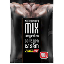 ПРОБНИК ProteinPower MIX Power Pro (40 гр.) - atletmarket.com.ua
