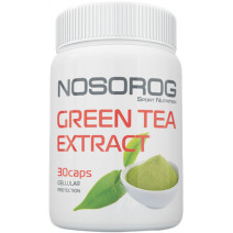 Green Tea Extract Nosorog Sport Nutrition (30 капс.) - atletmarket.com.ua