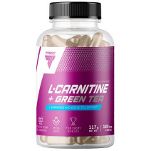 L-Carnitine Green Tea Trec Nutrition (180 капс.) - atletmarket.com.ua