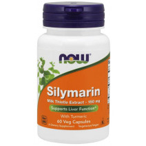 Silymarin 150 mg NOW (60 капс.) - atletmarket.com.ua
