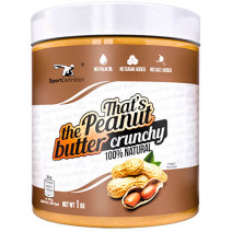 That`s the Peanut butter crunchy Sport Definition (1000 гр.) - atletmarket.com.ua