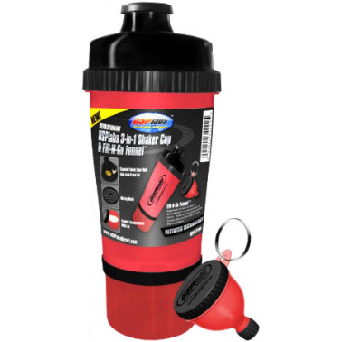 Шейкер 3-In-1 Shaker Cup USPlabs (700 мл + 2 контейнера) - atletmarket.com.ua