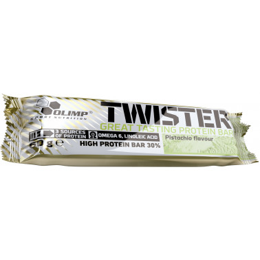 Twister 30% High Protein Bar (1 шт. по 60 гр.) - atletmarket.com.ua