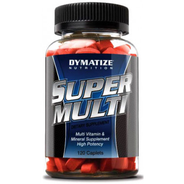 Super multi vitamin Dymatize (120 таб.) - atletmarket.com.ua