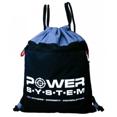 Рюкзак спортивний Power System PS-7011 Gym Sack Alpha - atletmarket.com.ua